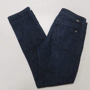 DL1961 Angel Mid-Rise Skinny Ankle Dark Wash Jeans